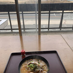 鳥取砂丘にいちばん近いドライブインレストラン砂丘会館 - 白いかちゃんぽん