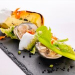 レストラン ラ・フォンテーヌ - 2021年春のコースメニュー例