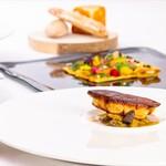 レストラン ラ・フォンテーヌ - 2021年春のドレ例