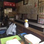 いか焼剣吉 - 店内