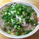 寿楽亭 - 大盛チャーシュー麺