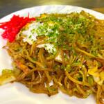 うめづ - 料理写真:五目焼きそば もっちりとした麺は健在 美味しいです!