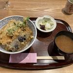 天ぷら 日本料理 あら川 -  江戸前穴子丼@1,980