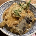 天ぷら 日本料理 あら川 -  江戸前穴子丼あっぷ