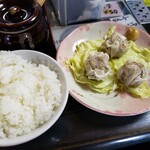 らあめん亭 武蔵 - シューマイセット2021.02.23