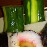 床爪商店 - 料理写真:調理例 太巻き 315円2012,09,06