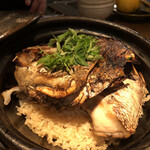 146752189 - 真鯛と牛蒡の土鍋ご飯