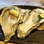 石臼挽き手打 蕎楽亭 - 長崎県小長井の牡蠣