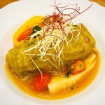 レストラン アオヤマ - 常陸牛ロールキャベツ