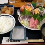 丸冨水産 - 刺身定食 税抜1280円