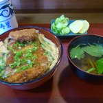 加寿里鮨 - 料理写真:カツ丼 750円