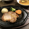 レストランにしかわ - 料理写真:ポークチャップセット