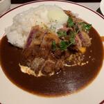 コトコトキッチン - 料理写真:プレミアムビーフカツDon
