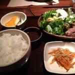 14677092 - ステーキ定食セット