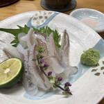 みよし寿司 - 料理写真:生げそアテ