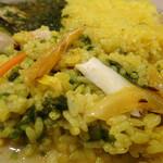 スパイスパレット - 生アオサと牡蠣のカレー