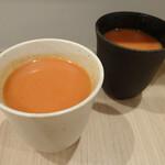 スパイスパレット - セットのスープ