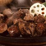 肉が一番 - 14切れ程の赤身肉