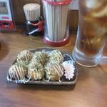 たこぱり - 2012/9/6  醤油一味マヨネーズ(バッテリ切れで携帯で撮影)