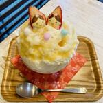 はいむる珈琲店 - 桃レアチーズのひな祭り 1,529円