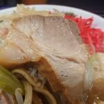 ラーメン二郎 - 豚はこんなかんじ。