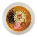 麺や ハレル家 - 赤辛味噌