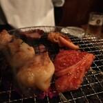 炭火焼肉 ゴン太 - ホルモンぷるぷる