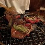 炭火焼肉 ゴン太 - ねぎ塩タン、美味い!