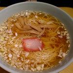 1468602 - セットメニューのラーメン、鶏のダシが効いていてとても美味しい。