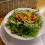 ベジフルキッチン Pepino - セットのサラダ