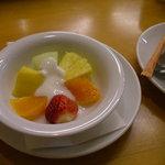 ベジフルキッチン Pepino - デザートのフルーツ