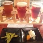 エニブリュ - 選べる!! 3種のビールのテイスティングSET 1,100円