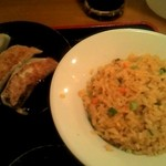 日本橋焼餃子 - ミニ炒飯と餃子3個