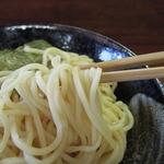 喜奴屋 - つけ麺は太麺を使用