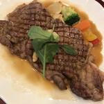 レストラン クレール - サーロインステーキ