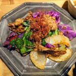 膳や musi-vege+ - 令和3年2月 牛肉のオイスター炒め