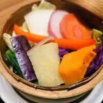 膳や musi-vege+ - 令和3年2月 季節の野菜せいろ