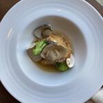 ボア フロッテ - 淡路鶏と蛤