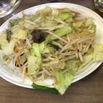 寿楽 - シャキッと感が隣にも聞こえてくる食感でした