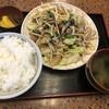 ドライブイン幸華 - 料理写真:野菜炒め定食