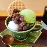 MAIKO茶ブティック - ミニ抹茶パフェセット