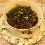 四川家庭料理 珍々 - 2012.8 ジャージャー麺(値段不明)