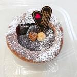 ブーランジェリー オンニ - ショコラフランボワーズのブリオッシュ