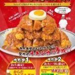 赤丸食堂 - 料理写真:天保山チキンカツ5周年企画開催中