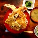 なかむら - 上天丼(1450円)