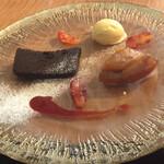 マンジェ・エ・ボワール NAGAO - お洒落なデザート盛
