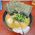 天王家 - 料理写真:「らーめん」¥700+「半熟味玉」¥100