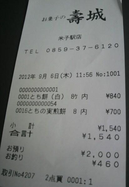 お菓子の壽城 米子駅店