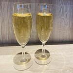 天ぷらとワイン 大塩 - スパークリングワイン