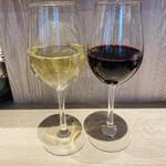 天ぷらとワイン 大塩 - カベルネ シャルドネ